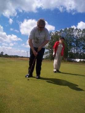 lær at spille golf